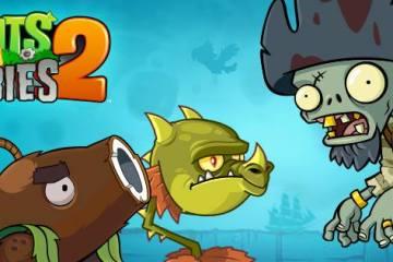 Banner de Plants vs. Zombies 2