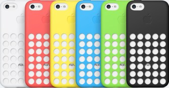 iPhones 5c com cases coloridas
