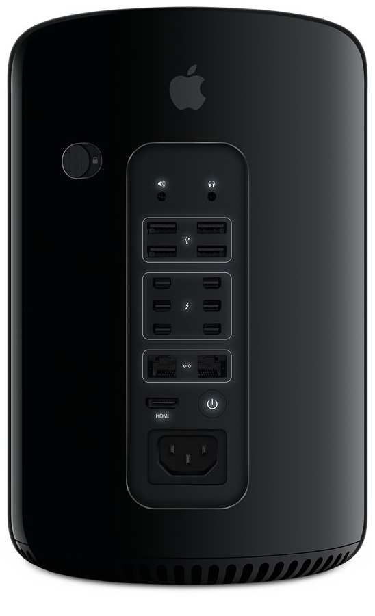 Mac Pro (traseira iluminada)