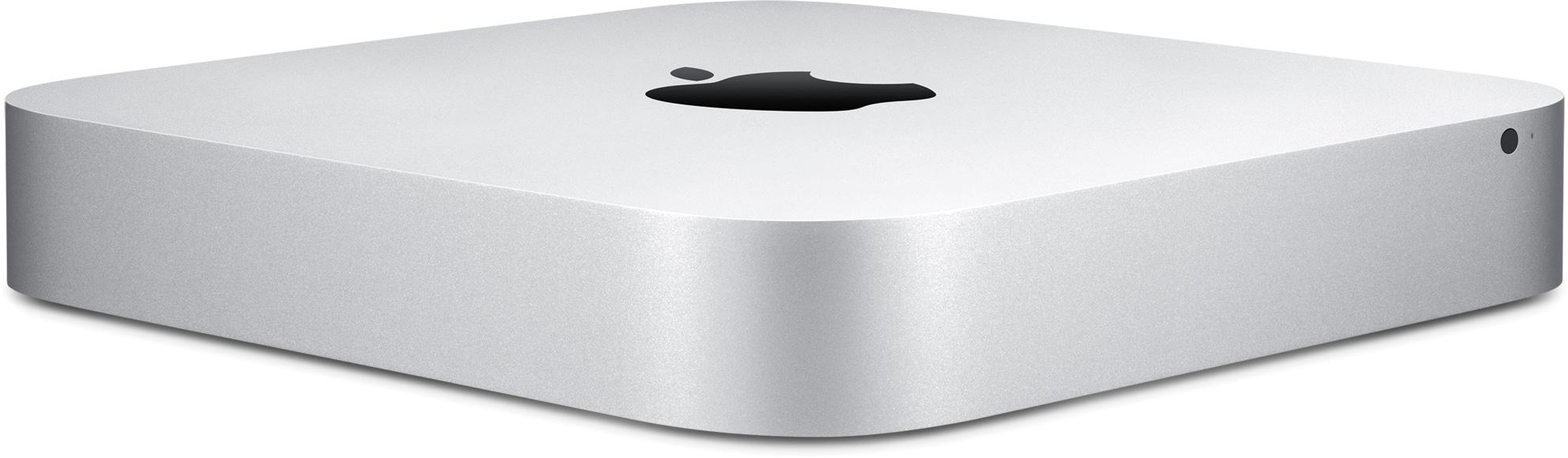 Novo Mac mini de frente e de lado