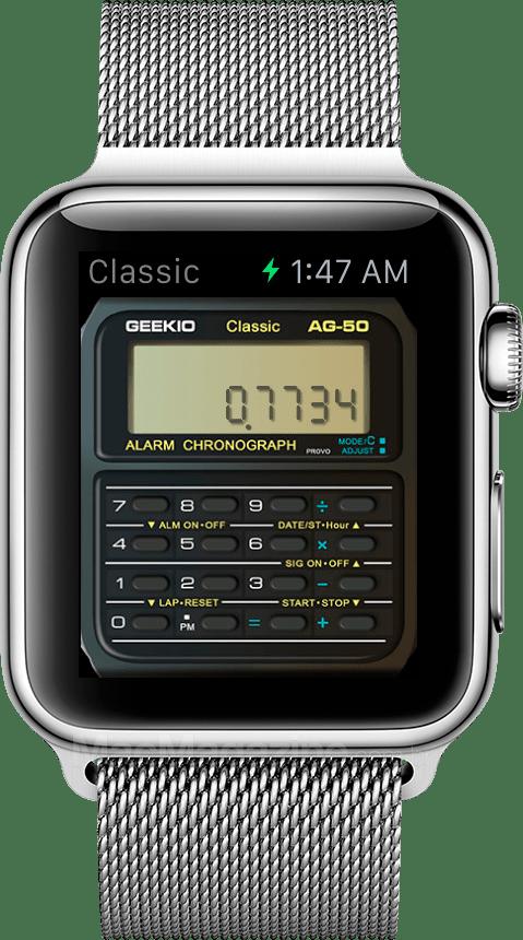 Geek Watch no Apple Watch