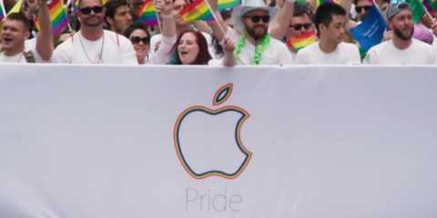 Apple na Parada do Orgulho de San Francisco