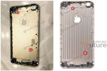 """Suposta estrutura do """"iPhone 6s Plus"""""""