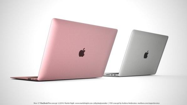 Conceito para um novo MacBook Pro de 15 polegadas