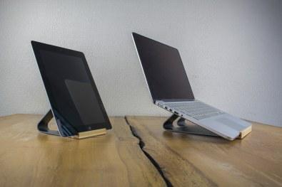 Suportes da ROCK para iPad e MacBook