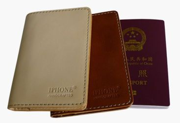 IPHONE marca chinesa - passaporte de couro