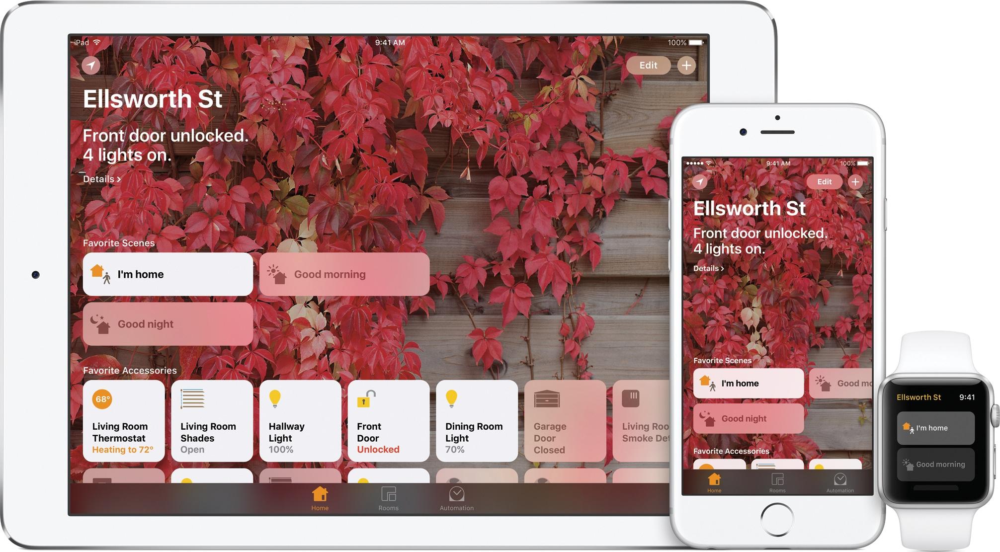 Home do iOS 10 em iPad, iPhone e Apple Watch