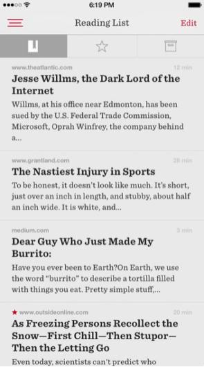Readability para iPhone
