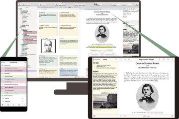 Scrivener Mac iOS