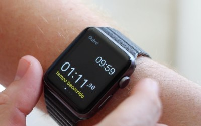 Alternando entre apps no Apple Watch