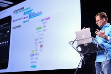 Um dos criadores da Siri apresentando su novo projeto, a Viv