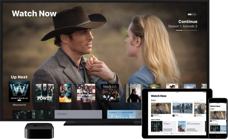 Novo app TV da Apple TV (também no iPad e no iPhone)