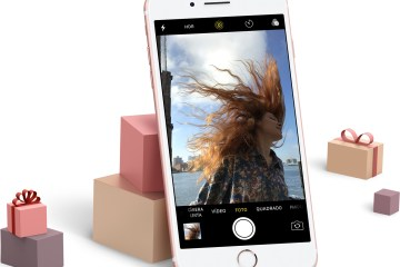 Apple divulgando o iPhone como uma opção de presente de Natal