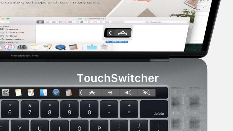 TouchSwitcher