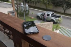 Suporte veicular magnético para iPhones, da ROCK