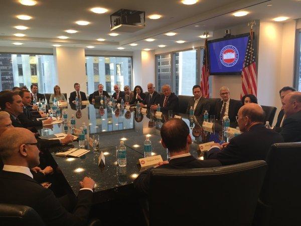 Reunião de Donald Trump com executivos de tecnologia