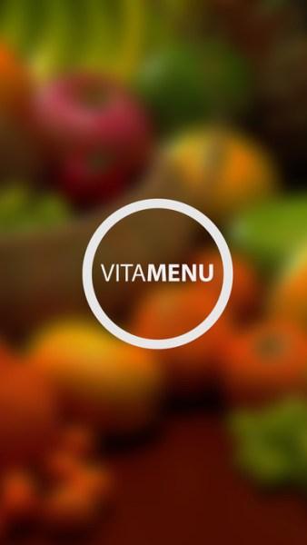 Aplicativo Vitamenu para iOS