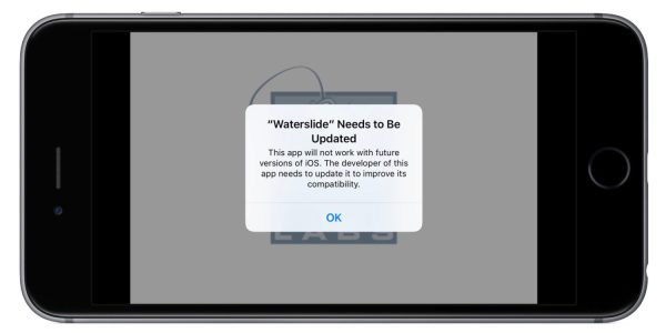 Aviso de apps de 32 bits no iOS 10.3 beta 1