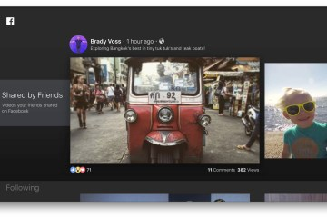 Facebook Video na Apple TV
