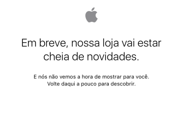 Apple Online Store fora do ar