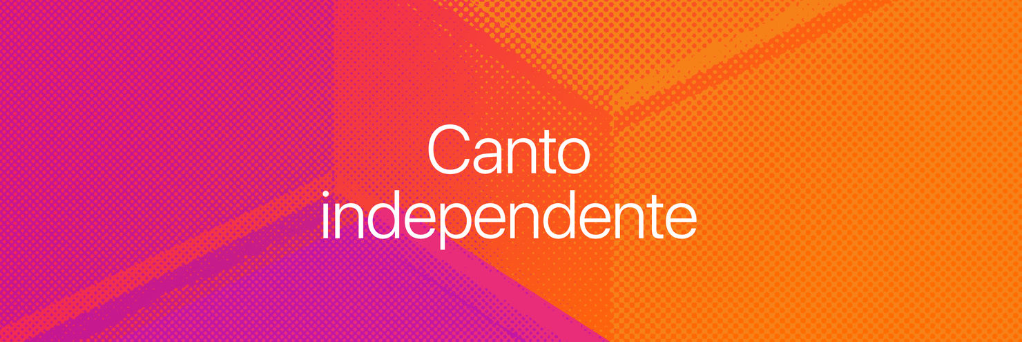 Banner do Canto independente, na iBooks Store