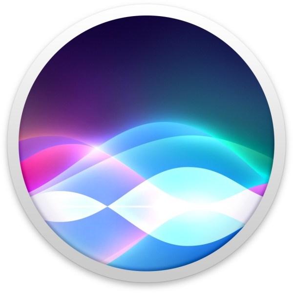 Ícone da Siri no macOS
