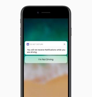 Não Perturbe Enquanto Dirigindo no iOS 11