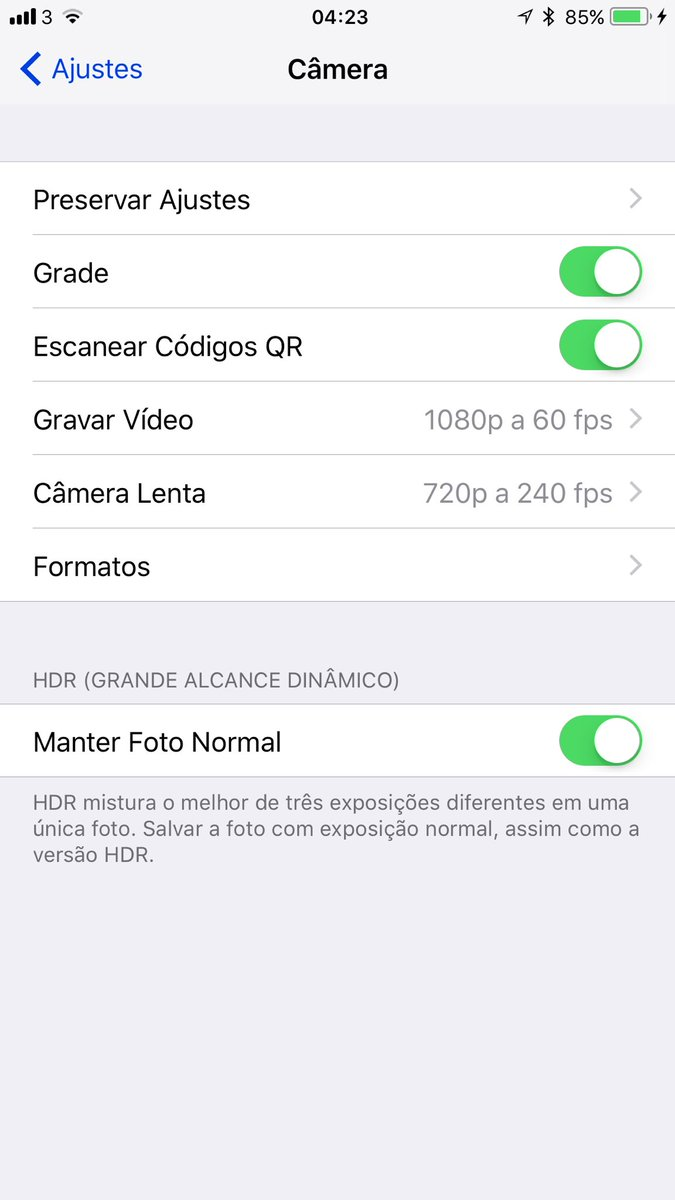 Screenshots do iOS 11 beta