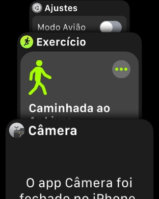 Screenshot do watchOS 4 beta