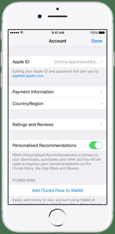 PayPal nas lojas da Apple