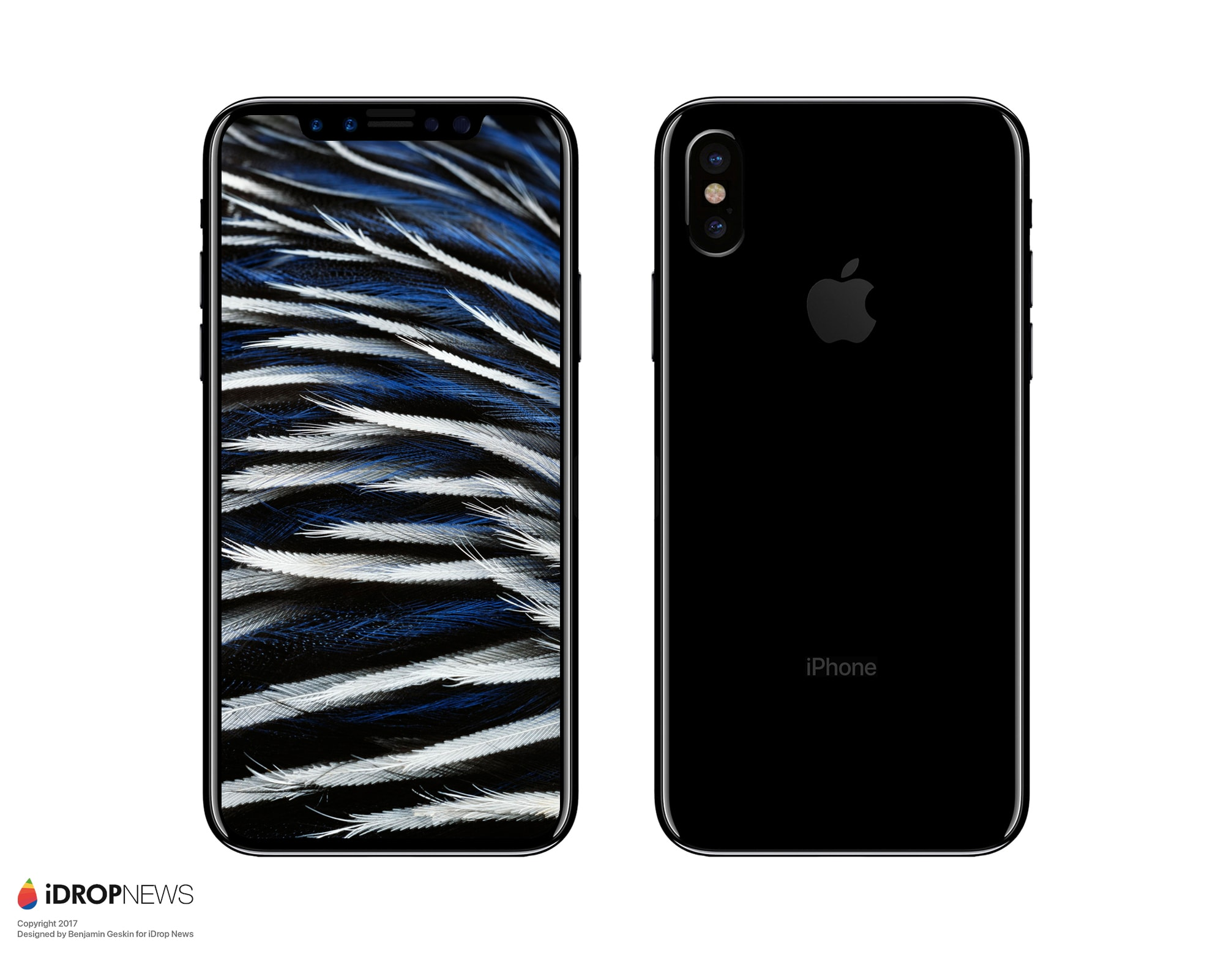 "Mockup do ""iPhone 8"""