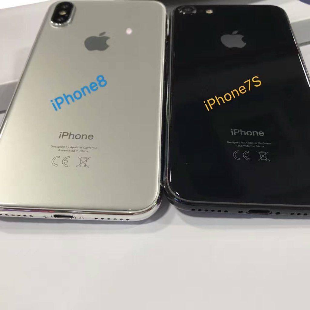 Supostos protótipos/dummies dos novos iPhones