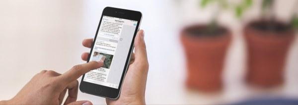 MacMagazine no Telegram em um iPhone