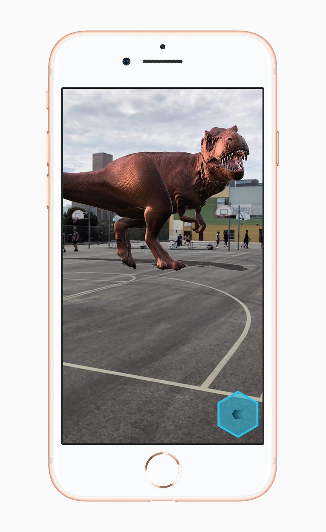 Realidade aumentada (AR) no iPhone 8