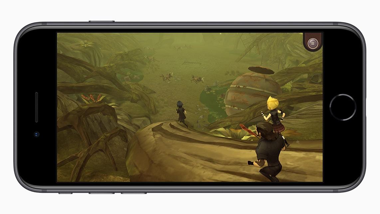 Jogos rodando no chip A11 Bionic do iPhone 8