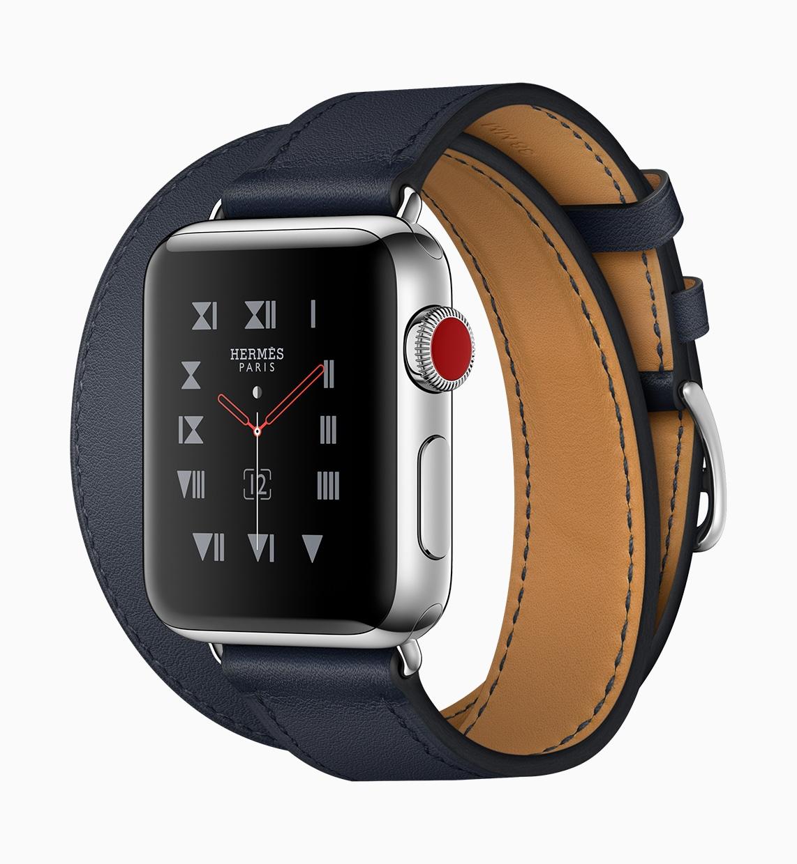 Versão Hermès do Apple Watch Series 3