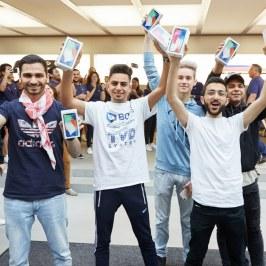 Lançamento do iPhone X - Apple Sydney