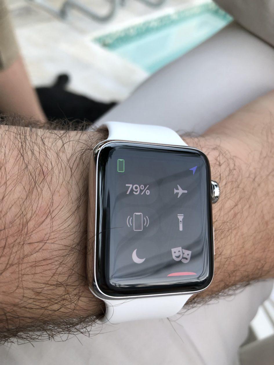 Novo ícone do iPhone X no Apple Watch