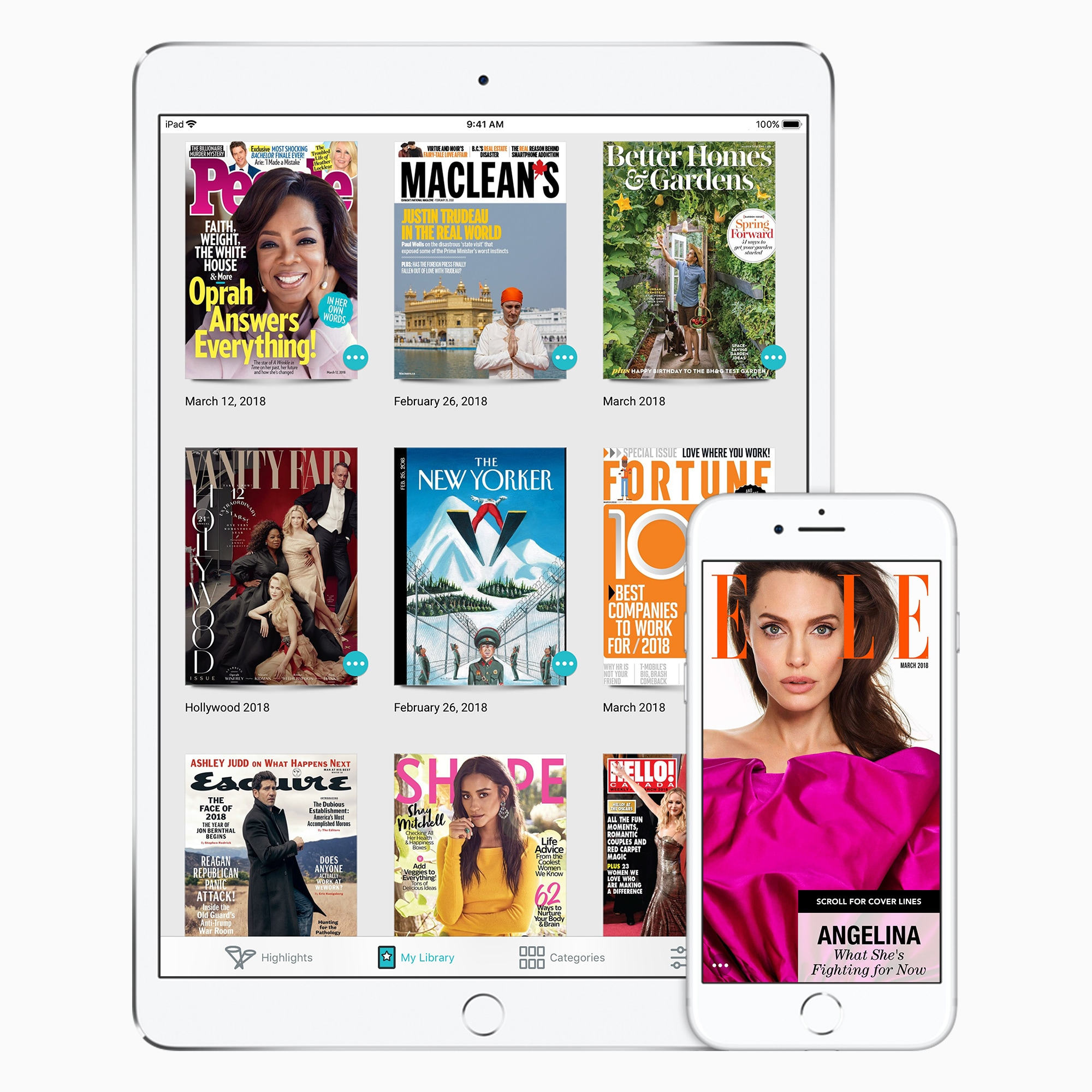 Apple adquire Netflix das revistas