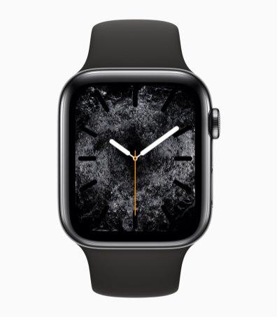 Mostrador de água no Apple Watch Series 4