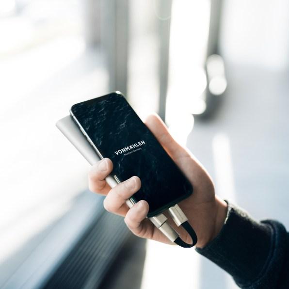 High Five conectado ao iPhone