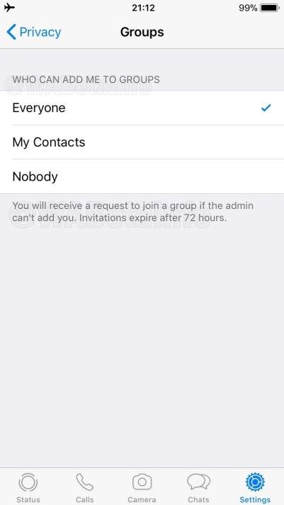 Novo recurso do WhatsApp: convite para entrar em grupos