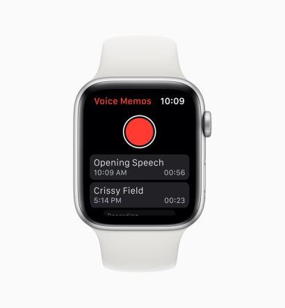 App Gravador de Voz no watchOS 6