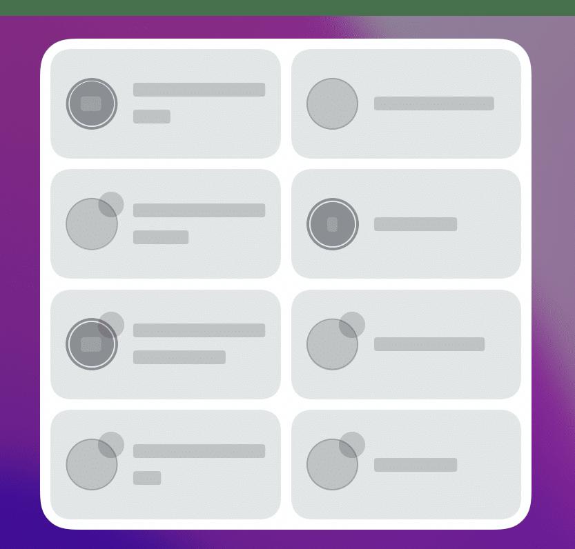 Fantastical Privacidade no widget