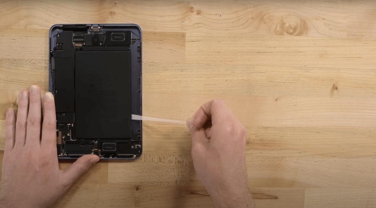teardown iPad mini 6a geração