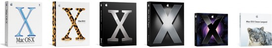 Caixas do Mac OS X