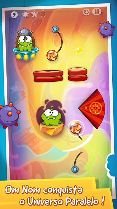 Screenshot de Cut the Rope: Time Travel