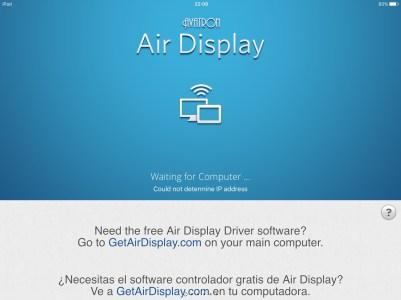 Configuração do Air Display 3