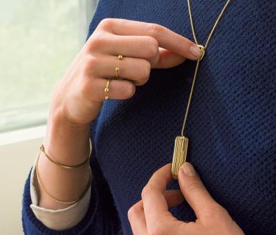 Flex 2 - Pingente de ouro