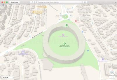 Mapas 3D da Apple em São Paulo